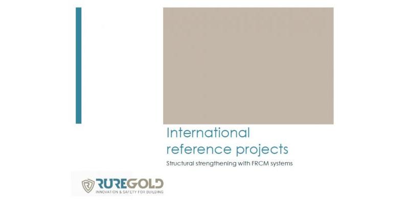 FRCM Ruregold referencias internacionales